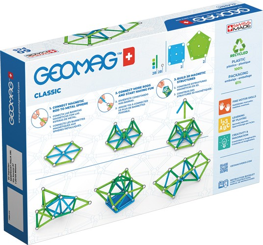 geomag classic green 60 pieces